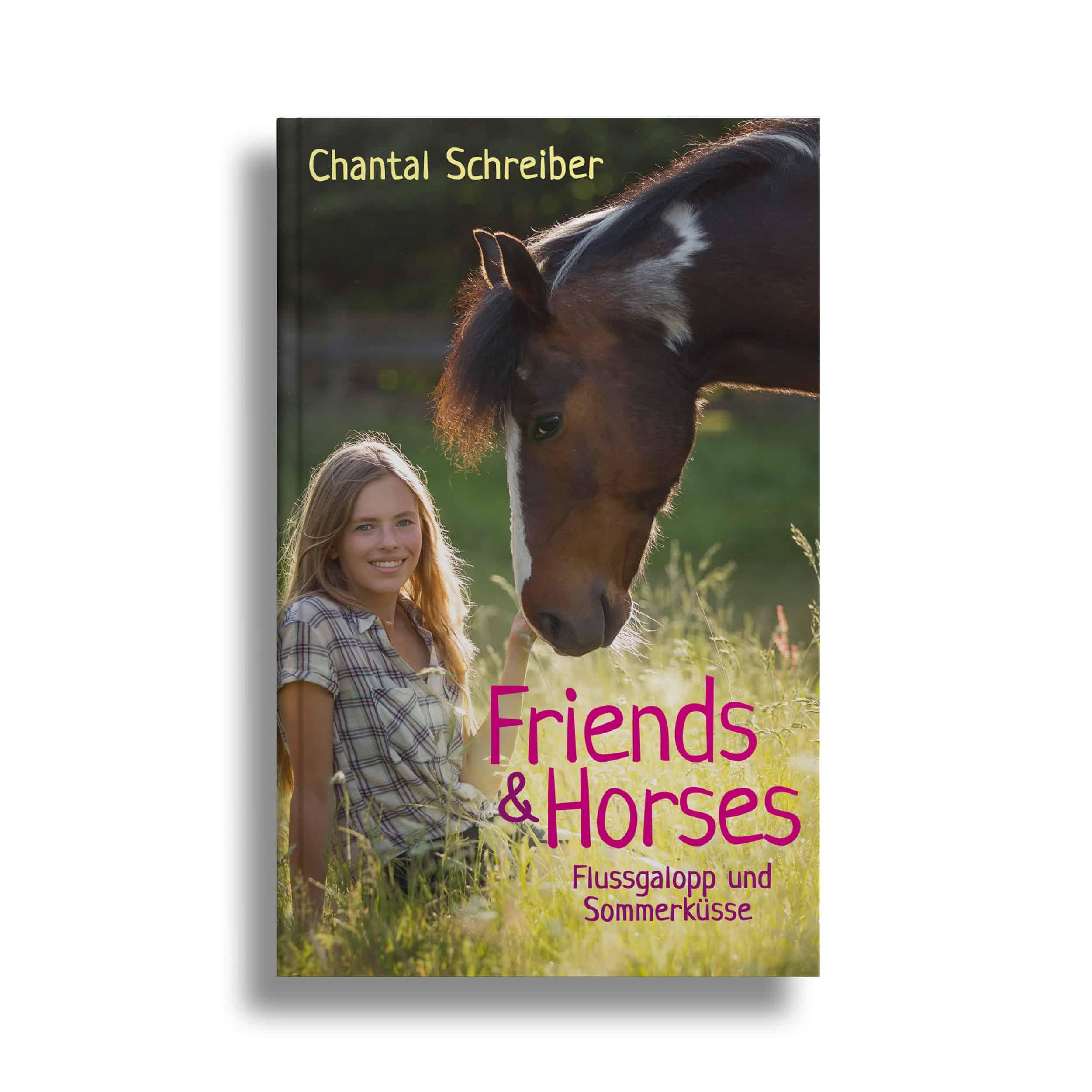 Buchcover Friends & Horses 2 – Sommerwind und Herzgeflüster